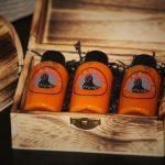 Ghost Chilli Carolina Reaper Chilli Trinidad Scorpion Chilli Sauces in pirate chest - Belfast Northern Ireland (UK / Irish)