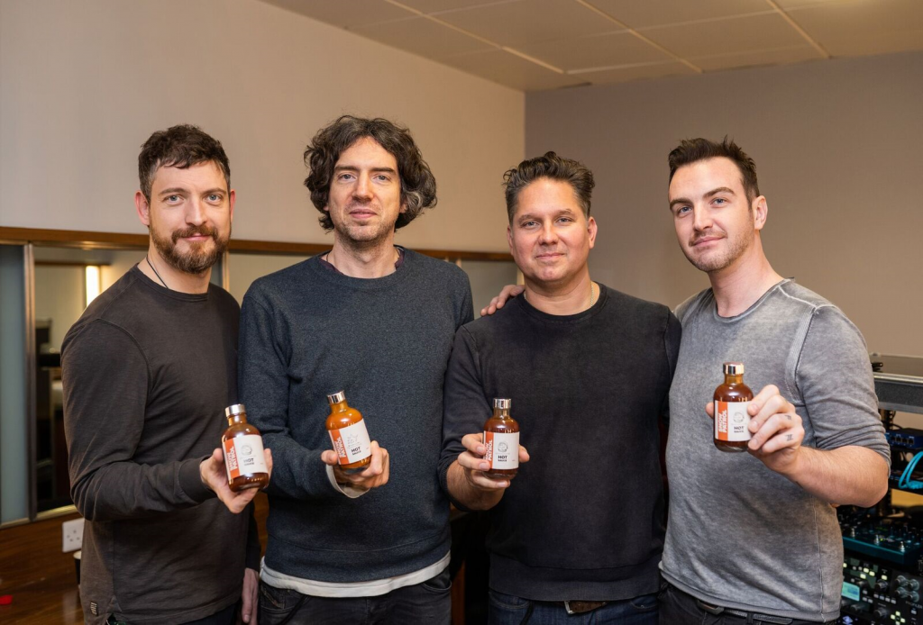 Snow Patrols Shows Off their Range of Hot Sauce
