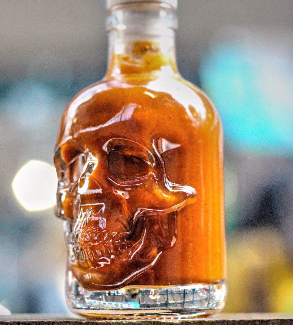 Amber Skull Ghost Chilli Sauce