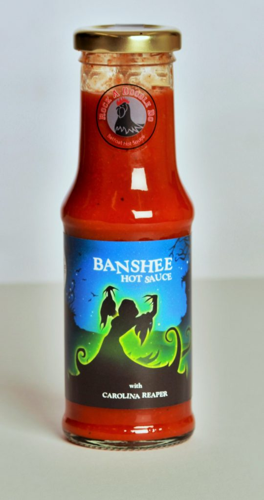 Banshee Hot Wing Sauce - Carolina Reaper & Cayenne