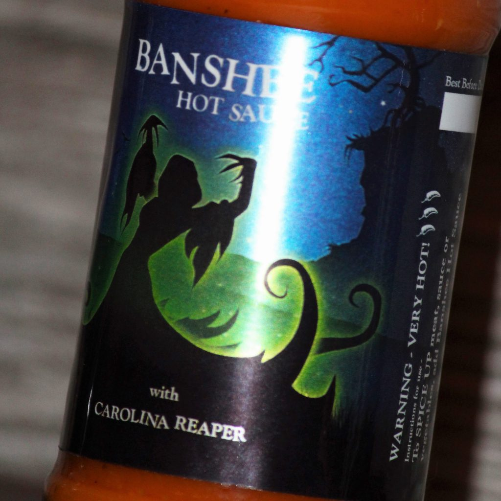 Belfast Banshee Hot Sauce with Cayenne & Carolina Reaper - Belfast Northern Ireland (UK / Irish)