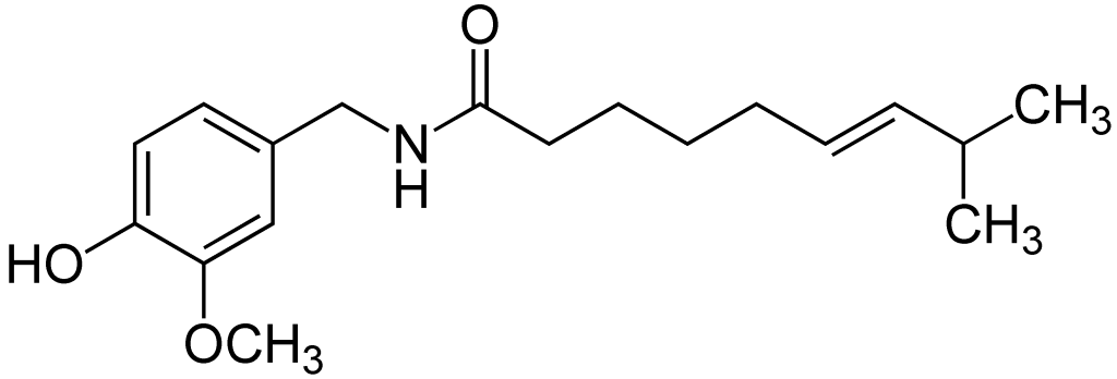 Capsaicin_Formulae
