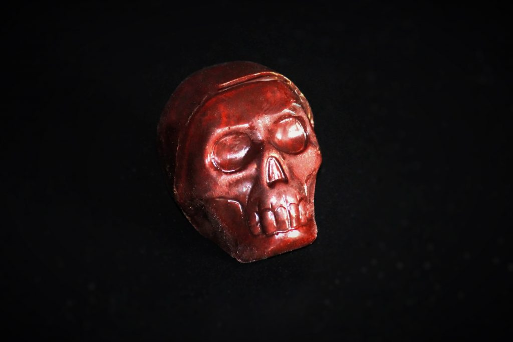 Reaper's Skull chocolate - Carolina Reaper Chocolate