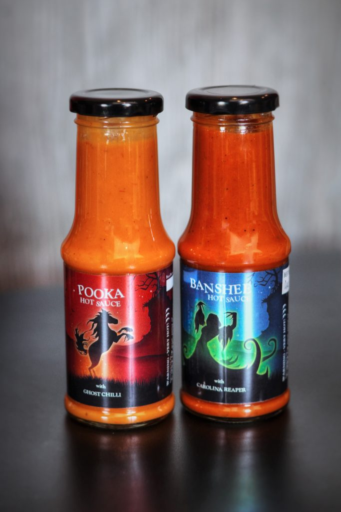 Ghost Chilli & Carolina Reaper Hot Sauce