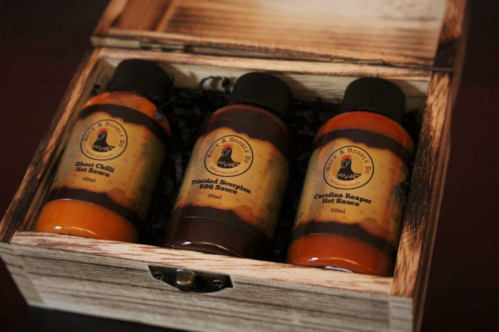 Pirate Chest Hot Sauce Gift Box