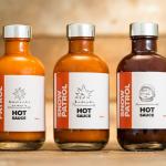 Snow Patrol Hot Sauce Bottles