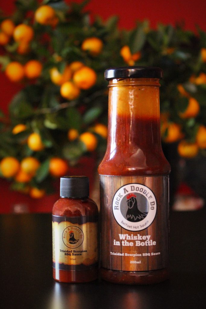 Whiskey in the Bottle - Trinidad Scorpion BBQ Sauce
