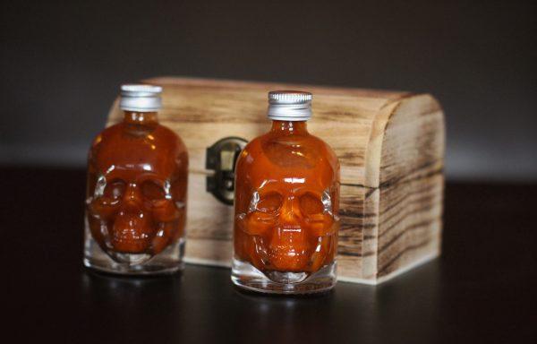 Ghost Chilli & Carolina Reaper Skulls