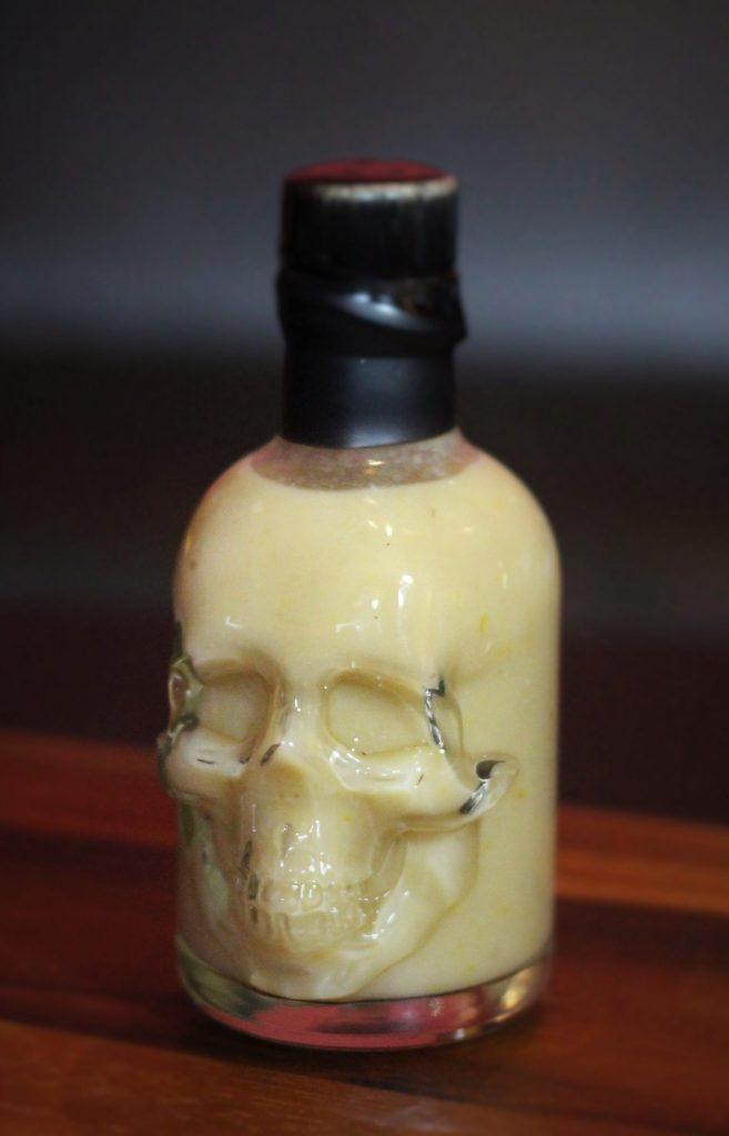 White Naga Viper Skull